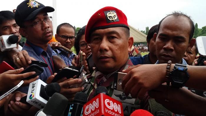 Brigjen TNI Madsuni Resmi Jabat Danjen Kopassus