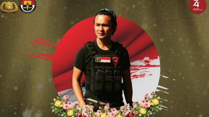 Briptu Hedar Anggota Brimob yang gugur di Papua