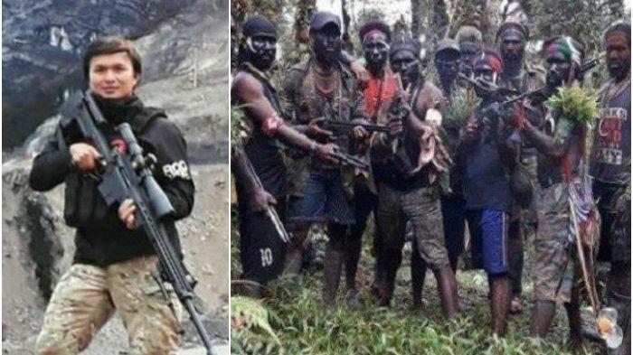 Briptu Heidar tewas ditembak KKB Papua.