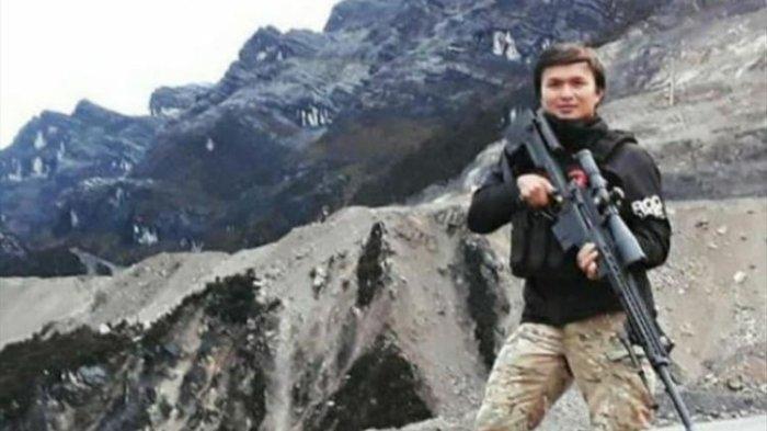 Briptu Heidar, anggota Ditreskrim Polda Papua yang ditemukan gugur.