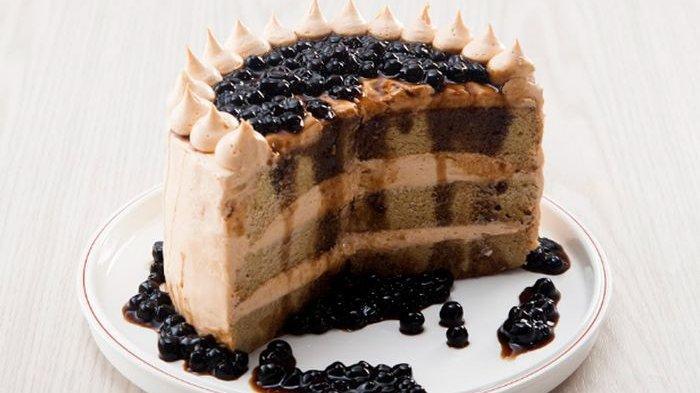 Cara Membuat Brown Sugar Boba Cake, Kudapan Istimewa dengan Taburan Boba yang Kenyal