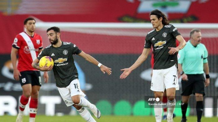 PREDIKSI Manchester United vs Wolves, Setan Merah Bisa Runner-up, Cemistry Cavani-Bruno Berlanjut?