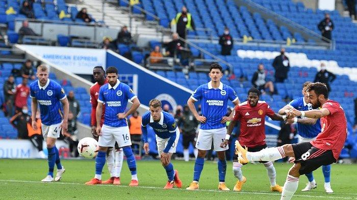 Live Streaming TV Online Brighton vs Manchester United Carabao Cup di Mola TV, Akses Link di Sini