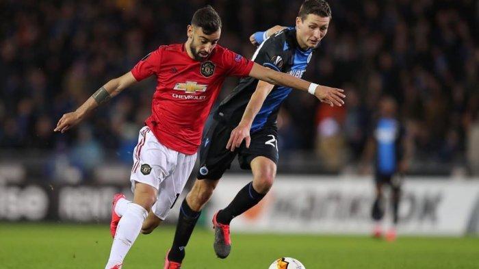 Bruno Fernandes Cetak Gol Debut Bersama Manchester United di Old Trafford