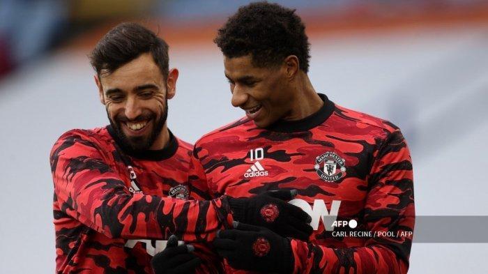 SUSUNAN PEMAIN & LIVE STREAMING Manchester United vs Real Sociedad: Bruno Kapten, Rashord Cadangan