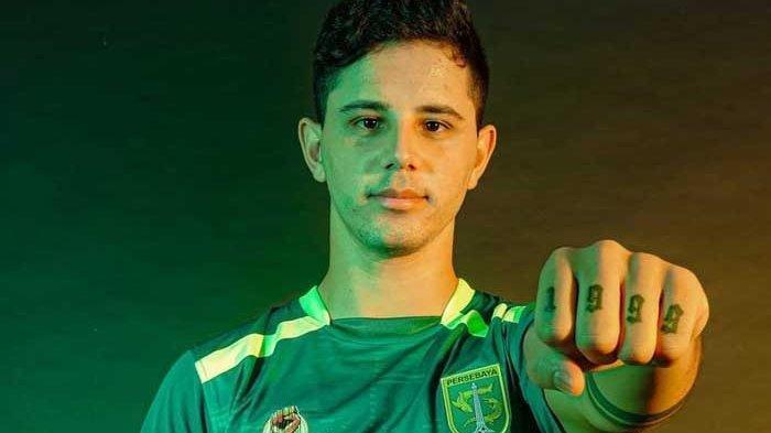 Bruno Moreira, pemain asing Persebaya Surabaya yang teken kontrak terakhir di tim Bajul Ijo. Ia dikontrak semusim oleh Persebaya Surabaya