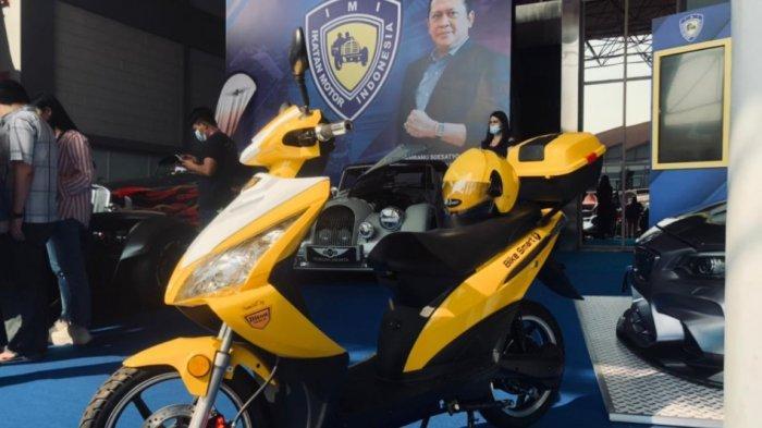 Motor Listrik BS Elektrik Besutan Ketua IMI Mejeng di IIMS Hybrid 2021