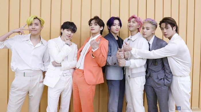 BTS Mendominasi Member Boy Grup K-Pop Terpopuler Juni 2021