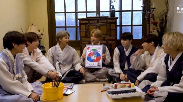 Grup Kpop BTS Beri Ucapan Tahun Baru Imlek dengan Cara Unik