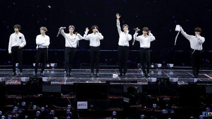 BTS menempati posisi pertama di lima kategori 2019 MAMA hingga Kamis (24/10/2019) pukul 16.50 WIB.
