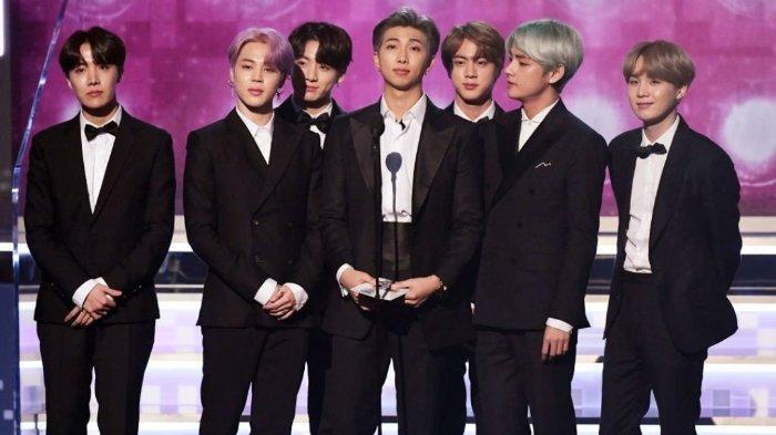 Sikap Penghormatan BTS untuk Korea Selatan di 61st Grammy Awards Banjir Pujian