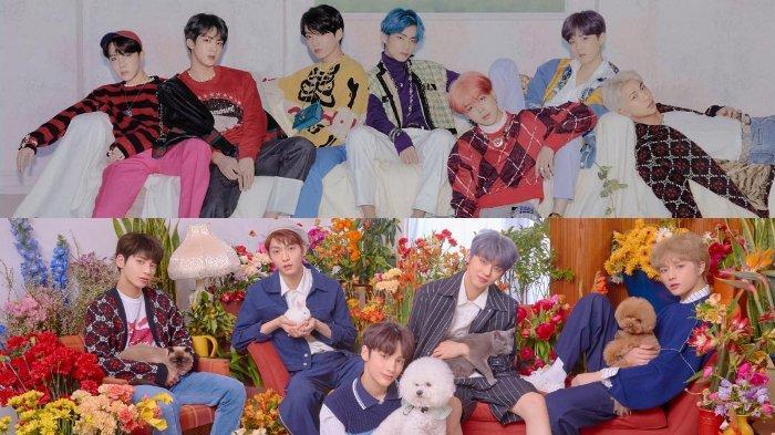 BTS dan TXT sama-sama Tampil di MCountdown, Catat Jadwal dan Link Live Streaming-nya!