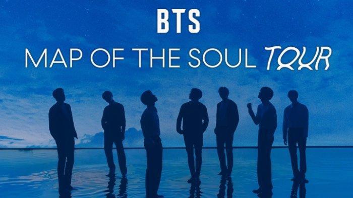 Intip penampakan arena konser BTS Map of the Soul Tour di 17 kota. RM dkk akan memulai konser pada April 2020.