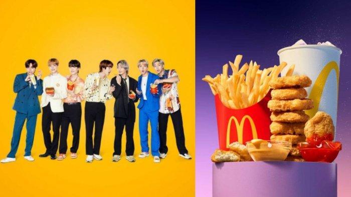 FAKTA Seputar BTS Meal McDonalds yang Bikin Heboh: Sebabkan Kerumunan hingga Antrean Berjam-jam
