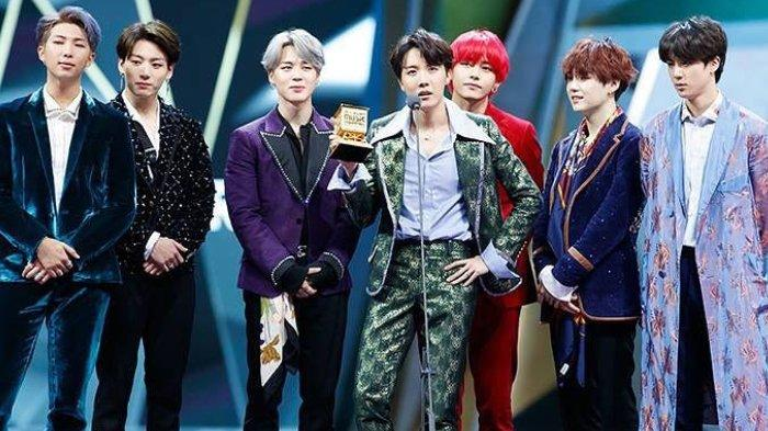Momen BTS Menangis di Ajang Penghargaan, Jin Pernah Bahas soal Keinginan Mereka Bubar