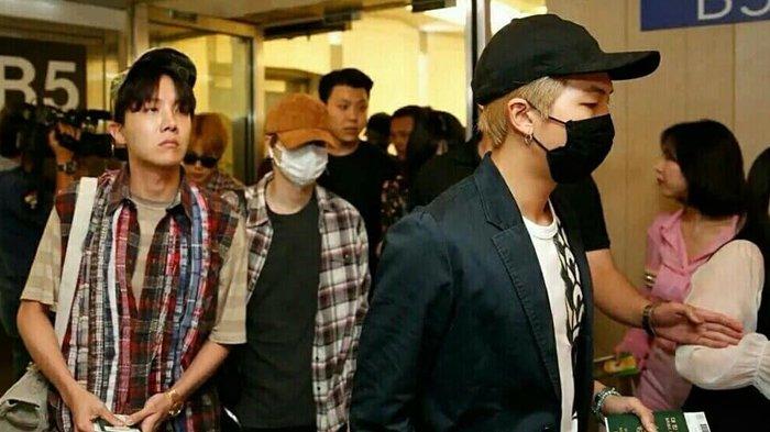 Bandara Incheon Mendadak Berubah Jadi Lautan Manusia Saat BTS Datang, Fans Dinilai Bertindak Agresif