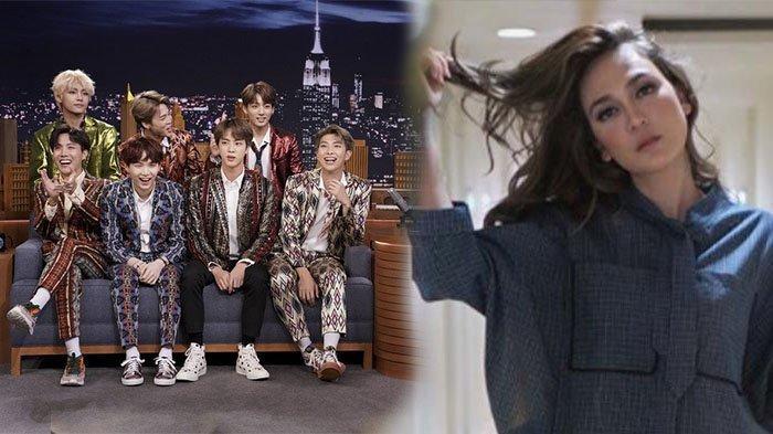 Fans Berat Boyband BTS Luna Maya Belum Sempat Beli Menu BTS Meal, Ini Komentarnya Lihat Antrean