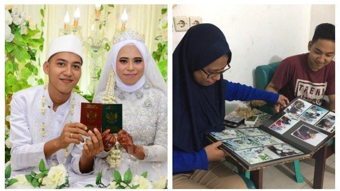 Muhrianti (29) seorang guru di SMAN 2 Samboja dinikahi mantan muridnya Abdul Qodir (19) pada Juni 2020 lalu.