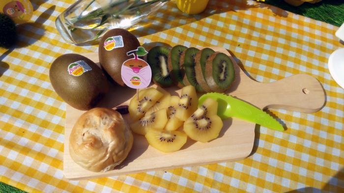 Buah Kiwi Zespri sebagai salah satu pengganti makanan manis di saat sahur maupun berbuka.