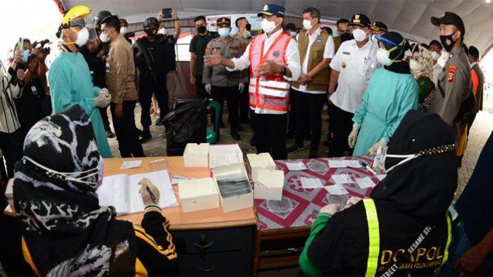 532 Warga Terdeteksi Positif Covid-19 di Pos Pemeriksaan Lampung dan Bakauheni