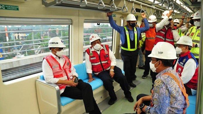 Pembangunan LRT Jabodebek Tahap 1 Capai 84,6 Persen, Ditargetkan Beroperasi Tahun Depan