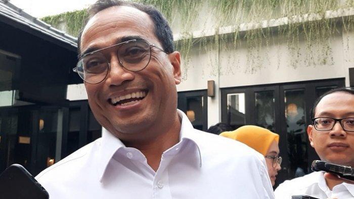 Budi Karya saat ditemui di kawasan Jakarta Pusat, Sabtu (19/10/2019)