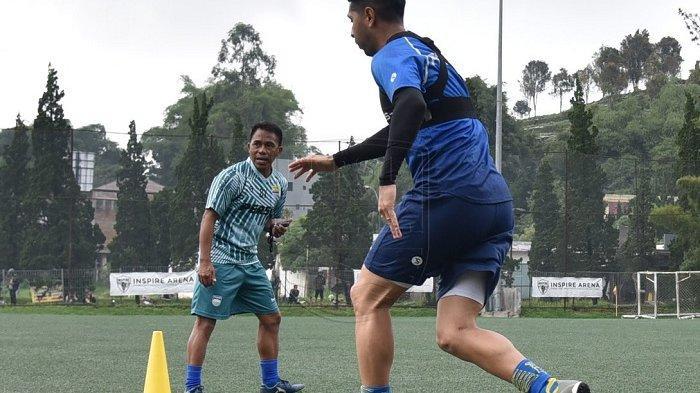 Budiman, asisten pelatih Persib Bandung