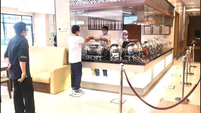 Hotel Santika Premiere Bintaro telah membuka kembali pelayanan Dine-in di Kembang Sepatoe Restoran.