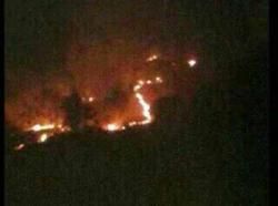 Kebakaran di Pengunungan Menoreh Melahap Hutan Gandutetes