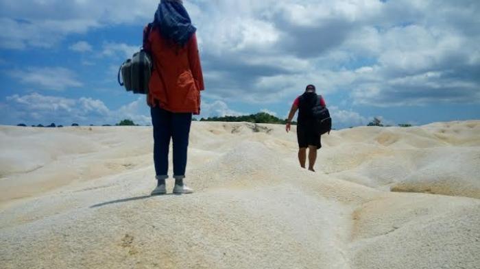 Bukit Pasir di Jalan Lintas Tanjungpinang - Bintan yang Mencuri Perhatian Traveler