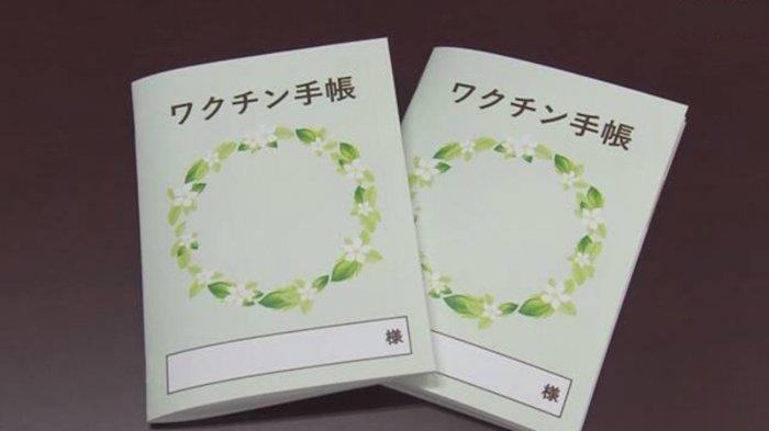 Buku Catatan Vaksin Jepang Laris Terjual Saat Ini