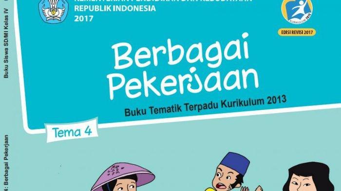 Kunci Jawaban Tema 4 Buku Tematik Kelas 4 Halaman 136 138 Berbagai Pekerjaan Tribunnews Com Mobile