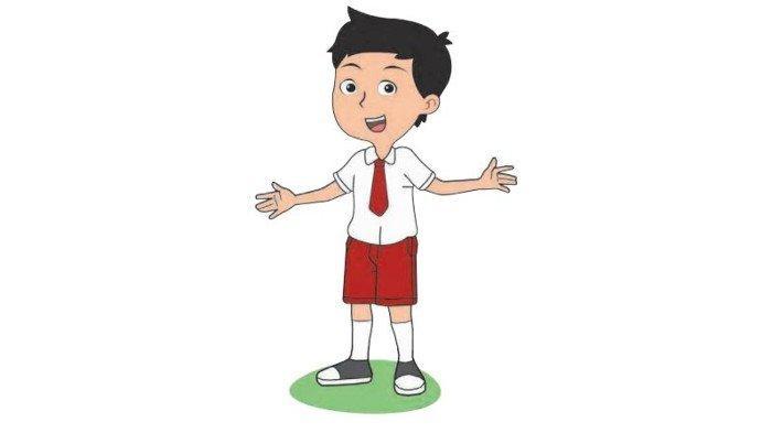 Buku Tematik Kelas 1 Tema 1 Subtema 2 Pembelajaran 4 Hal 57