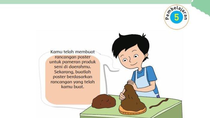 Langkah-Langkah Membuat Poster, Jawaban Buku Tematik Tema 5 Kelas 6 SD Subtema 2 Pembelajaran 5