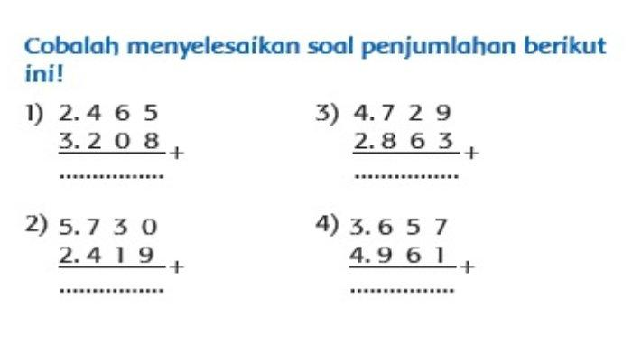 Buku Tematik Tema 1 Kelas 3 SD halaman 61.