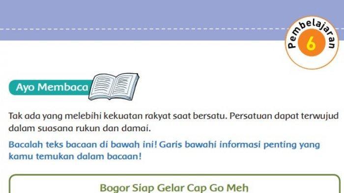 KUNCI JAWABAN Tema 3 Kelas 5 SD Halaman 79 80 81 82 Buku Tematik Pembelajaran 6 Subtema 2