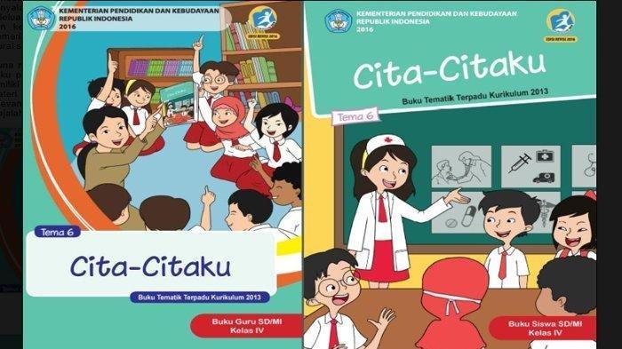 Kunci Jawaban Tema 6 Kelas 4 Sd Halaman 35 38 39 41 43 44 Buku Tematik Cita Citaku Subtema 1 Tribunnews Com Mobile