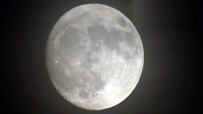 Bulan Purnama dilihat dari Tokyo Jepang