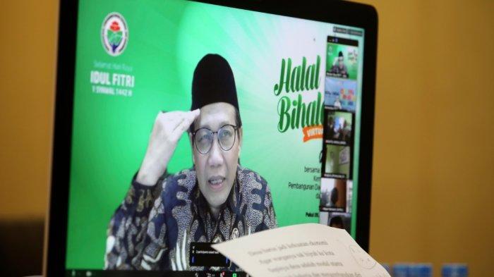 Halalbilhalal dengan BUMDes, Abdul Halim Kutip Lagu