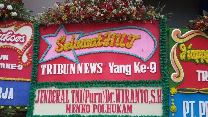 Menkopolhukam Wiranto Ucapkan Selamat Ultah Ke-9 Tribunnews