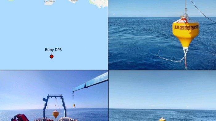 BPPT Pasang Buoy Peringatan Tsunami di Perairan Selatan Bali
