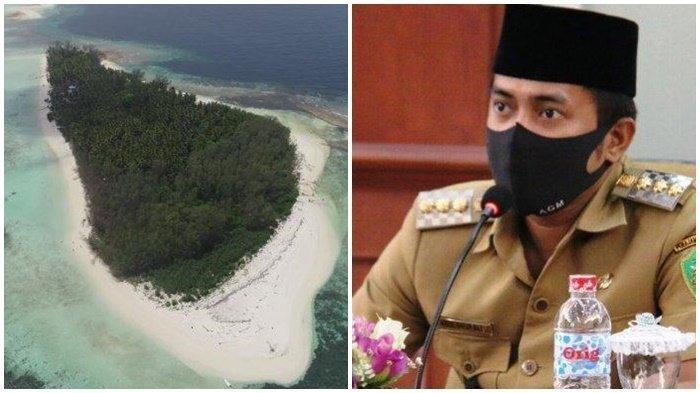 Diisukan Beli Pulau Malamber di Mamuju, Simak Penjelasan Bupati PPU Abdul Gafur Masud