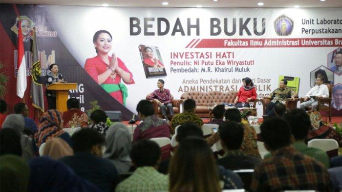Bupati Tabanan Promosikan Desa Wisata Saat Bedah Buku Investasi Hati di Universitas Brawijaya