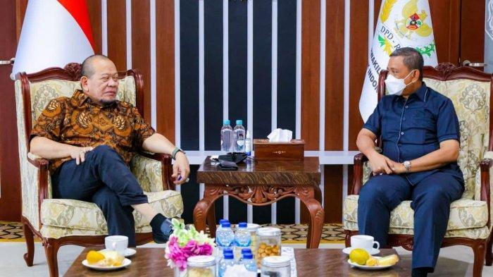 Terima Audiensi Bupati Wajo, Ketua DPD RI Bahas Tindak Lanjut Revitalisasi Masjid Tua Tosora