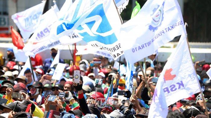 Polri Bakal Gelar Patroli Halau Ribuan Buruh yang Hendak Berunjuk Rasa Tolak Omnibus Law Cipta Kerja