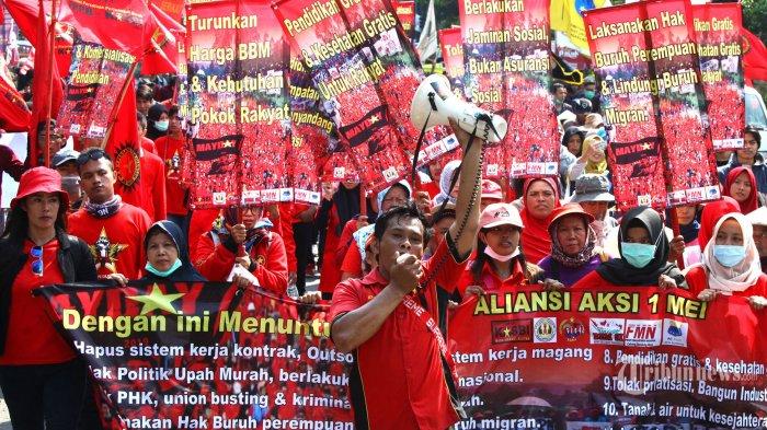 Tolak Omnibus Law, 50 Ribu Buruh Siap Peringati May Day