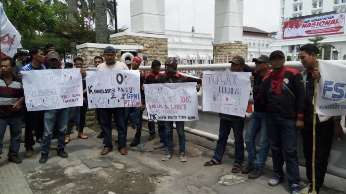 Disnakertrans Dituding Mandul Tak Gubris Laporan Buruh