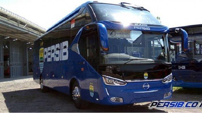 Persib Bandung Pamer Bus Mewah Anyar