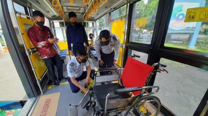 DAMRI Mataram Uji Coba Operasi Bus untuk Penyandang Disabilitas