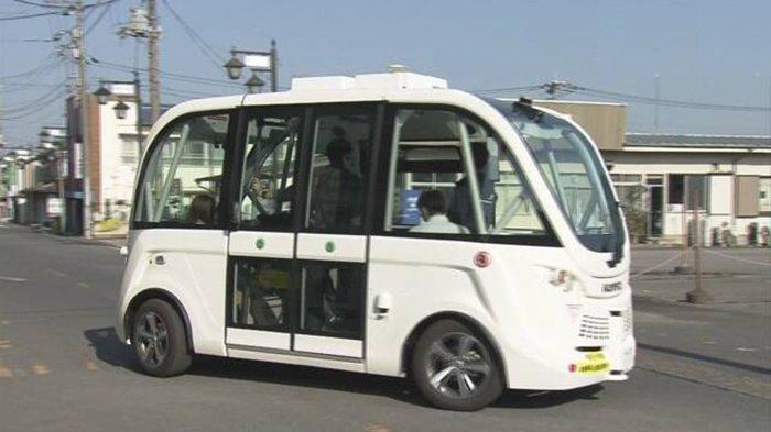Kendaraan Umum Tanpa Sopir Level 4 di Perkotaan Jepang akan Beroperasi Tahun 2025